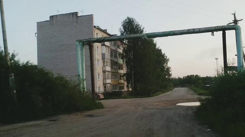 Демьяново Убитая улица Энергетиков Благоустройство посёлка