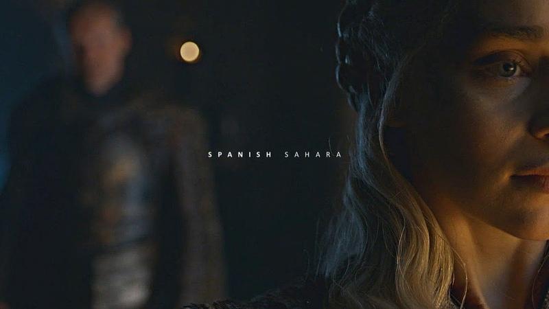 Daenerys Jorah Spanish Sahara 8x03