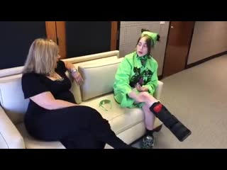 billie interviewed at lifeisbeautiful in vegas