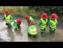 Детский сад на прогулке в Канаде
