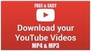 CARA MUDAH DOWNLOAD VIDEO DARI YOUTUBE KE DALAM FORMAT MP4 ATAU AUDIO MP3 TANPA RIBET