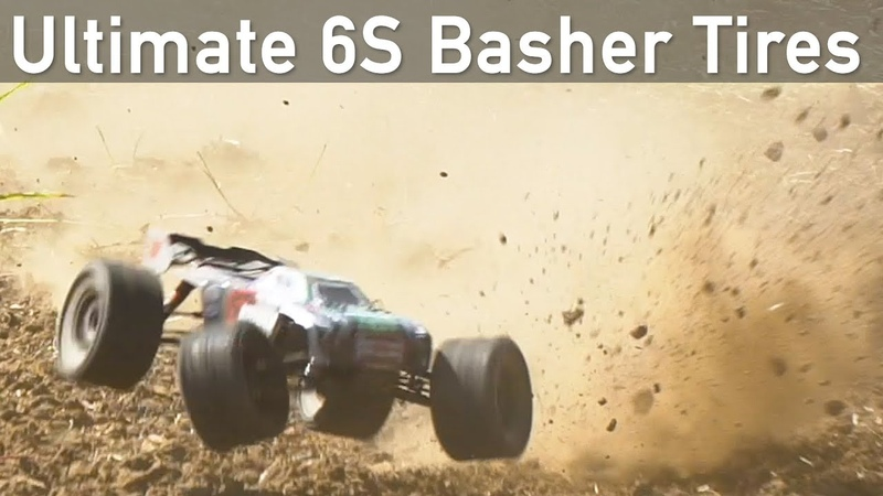The Ultimate 6S RC Basher Tires Trencher HP Belted 3 8 Tires