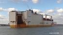 Grimaldi Lines 'Grande Amburgo' RORO Vehicle Carrier arrives Southampton Docks 20 02 18