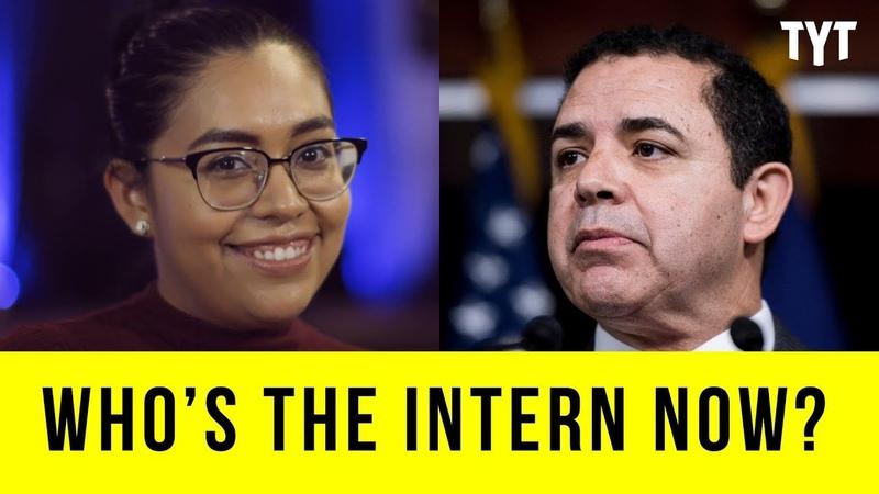 Who's The Intern Now Jessica Cisneros vs Henry Cuellar