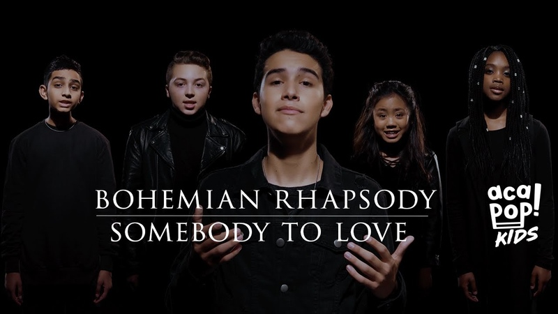 Acapop! KIDS - BOHEMIAN RHAPSODY/SOMEBODY TO LOVE by Queen (Official Music Video)