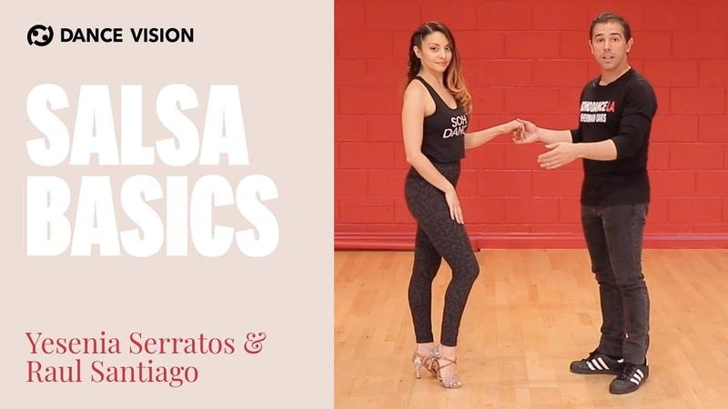 Salsa Basics by Yesenia Serratos Raul Santiago Ballroom Dance Lessons