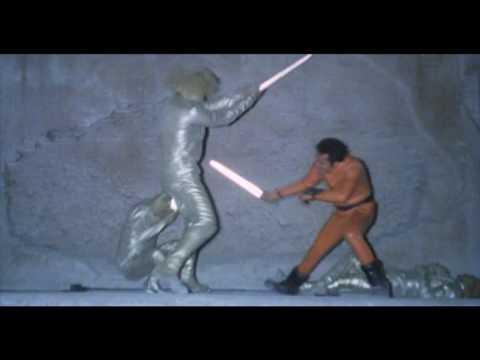 La bestia nello spazio Jedi Fight