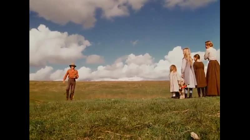 La casa de la pradera TV Episodio Piloto Little House on the Prairie 1974 Michael Landon La familia Ingalls