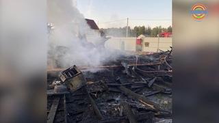 Трехлетняя девочка и ее отец погибли при пожаре в Поварово