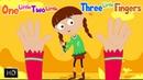 One Little Two Little Three Little Fingers   Ten Little Fingers   Finger Family Song  
