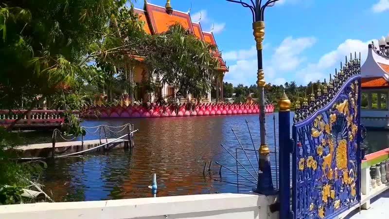 🔆 Яркий и впечатляющий буддийский храм Wat Plai Laem 🙏🛐 Koh Samui 🏝