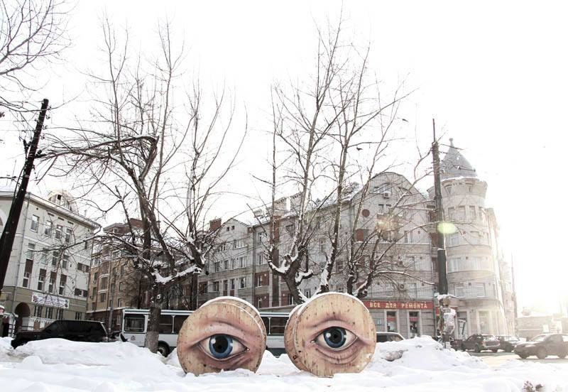 Уличный художник Никита из Нижнего Новгорода