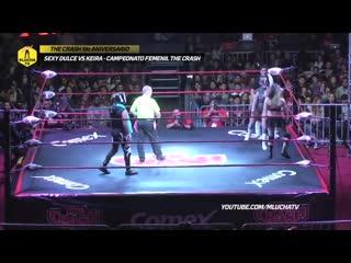 Sexy Dulce vs Keira (Campeonato Femenil The Crash)