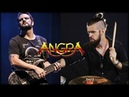 ANGRA ANGELS AND DEMONS ft FELIPE ANDREOLI PEDRO TINELLO DRUM AND BASS ONLY