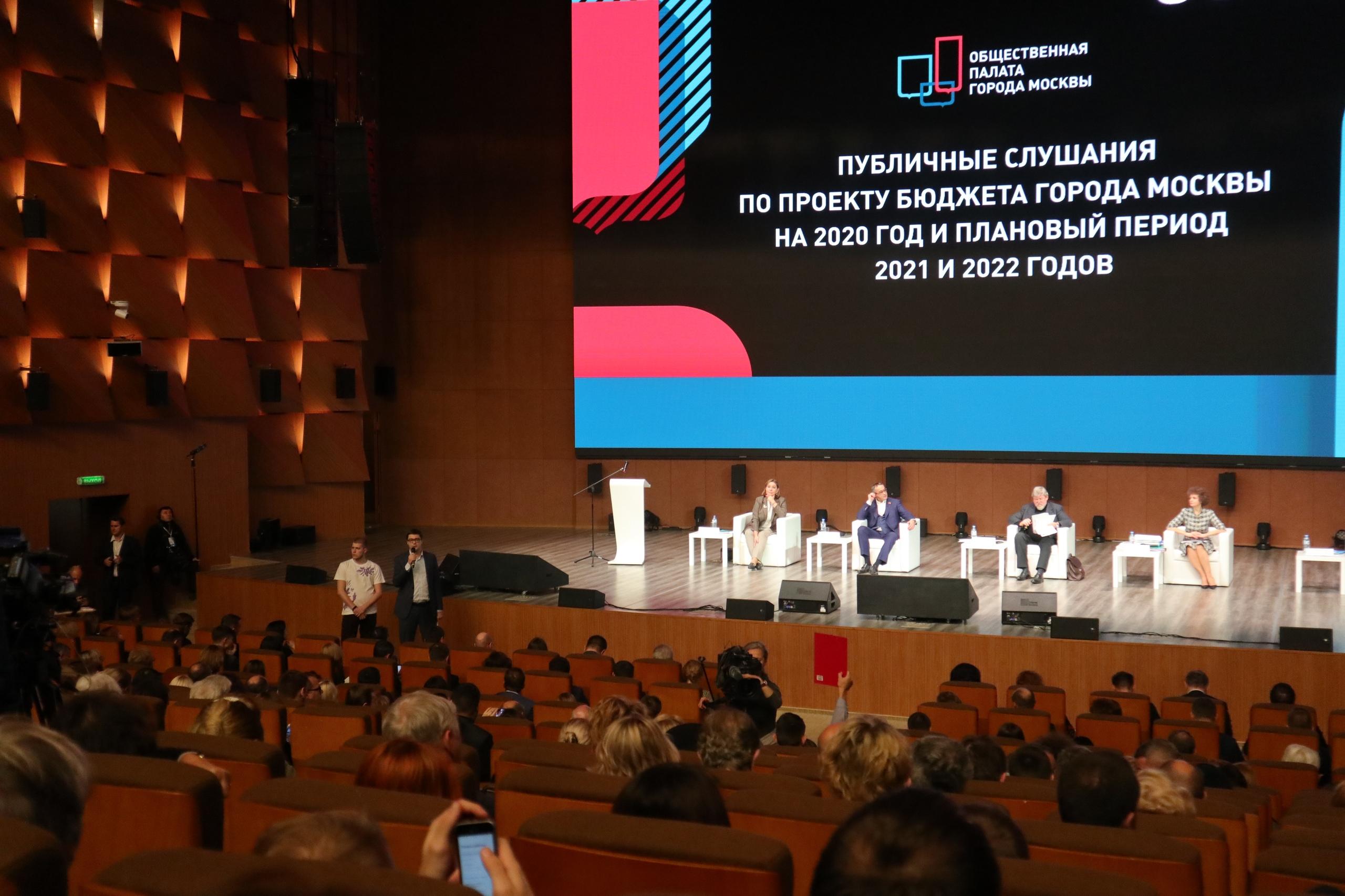 Куда пойдут наши денежки. Или публичные слушания по бюджету Москвы на 2020-2022 годы.