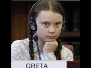 16-летняя школьница Грета Тунберг обвиняет ООН в пустословии