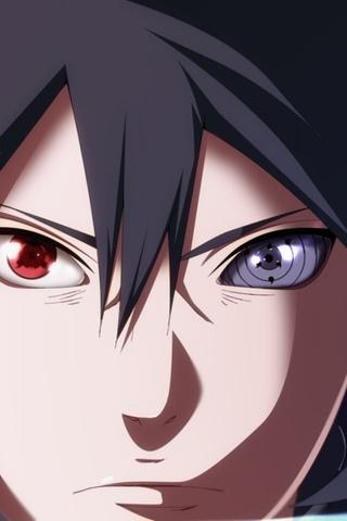 sasuke mangekyou sharingan and rinnegan - 640×960