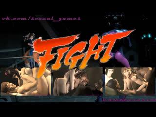 Ultimate tournament ep. 1 chun li vs juri han (uncut ver.) (2017) (street fighter sex)