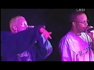 "Eminem & Royce 5""9'-  Ain't Nuttin Nut a G Thang (Live Sound Factory  1999)"