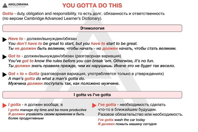 YOU GOTTA DO THIS, или Толкаем разговорный английский в массы, чувак, изображение №1