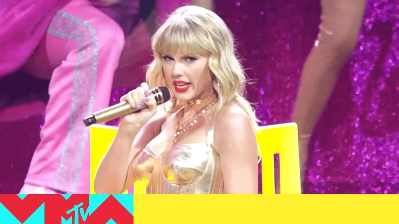 Taylor Swift Performs 'You Need to Calm Down' 'Lover' 2019 Video Music Awards