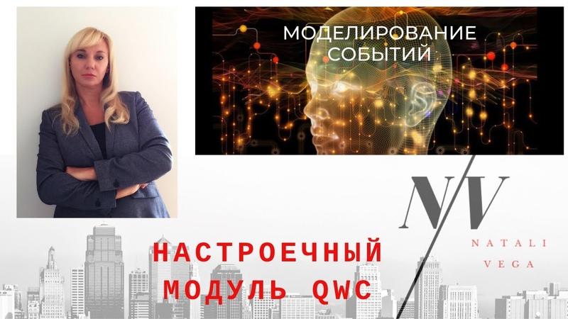 Настроечный QWC - модуль для выхода в высокочастотный режим и моделирования ситуаций и событий.