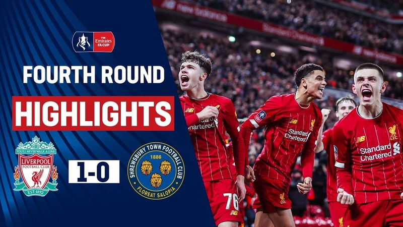 Young Reds Edge Past The Shrews At Anfield Liverpool 1 0 Shrewsbury Town Emirates FA Cup 19 20