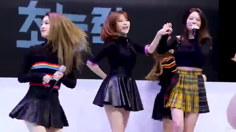 4K 190323 프로미스나인 fromis 9 백지헌 Jiheon To Heart 투하트 광화문 KT 5G 행사 직캠 FANC 1