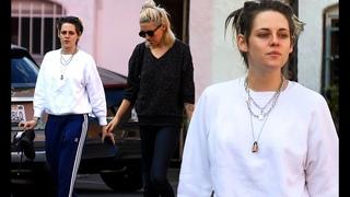 Kristen Stewart and girlfriend Dylan Meyer pamper themselves with mani-pedis