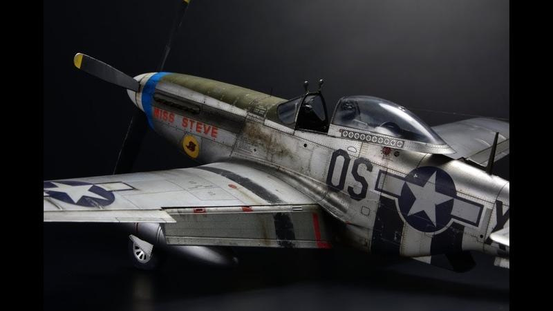 P-51 D-5 Mustang Eduard 1/48 - Miss Steve - Aircraft Model