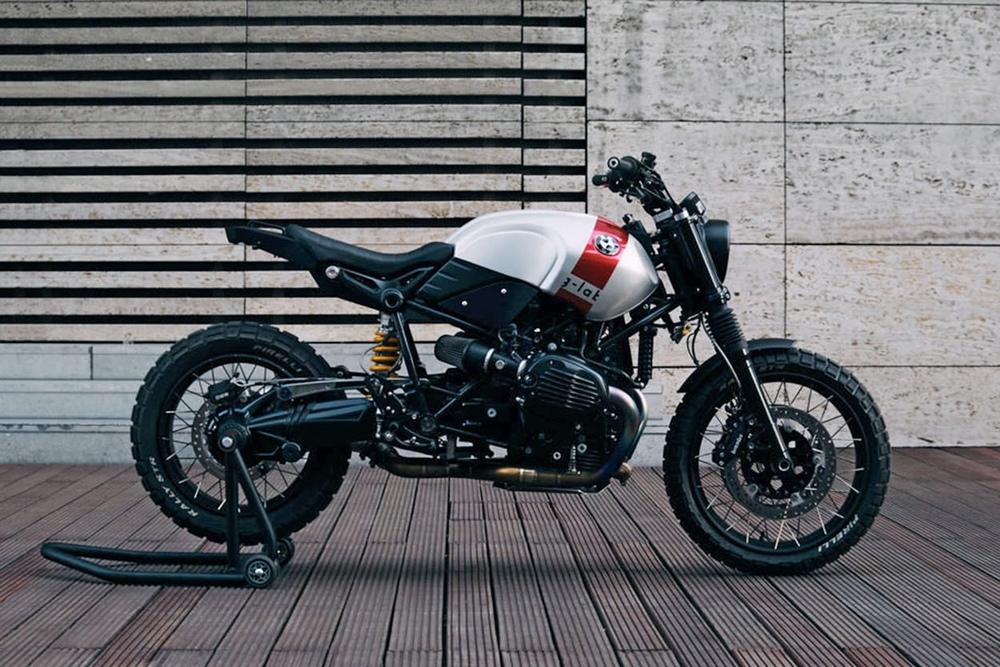 SE Concept Bikes: кастом BMW R nineT Scrambler