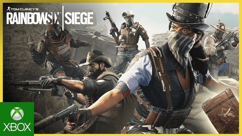 Rainbow Six Siege: Western Showdown Collection New on the Six Ubisoft NA