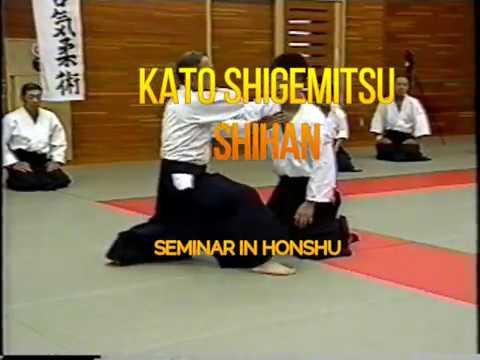 Daito-ryu Aikibudo - Kato Shigemitsu, seminar in Honshu