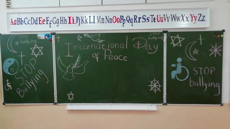 Видеооткрытка к Международному Дню мира. Happy International Day of Peace