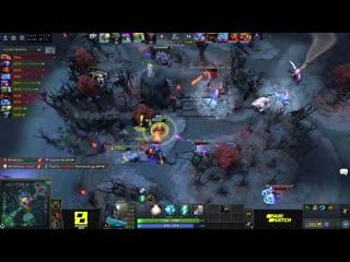 Winstrike team vs team spirit, game 1