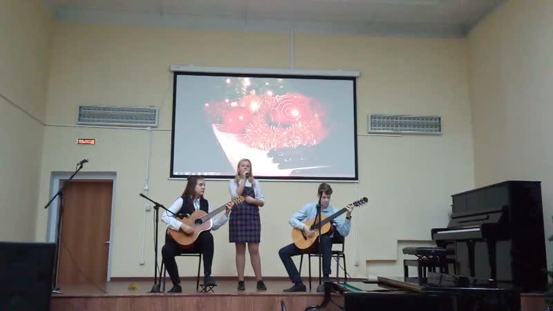 Концерт в Вытегорской школе искусств Фрагмент 3