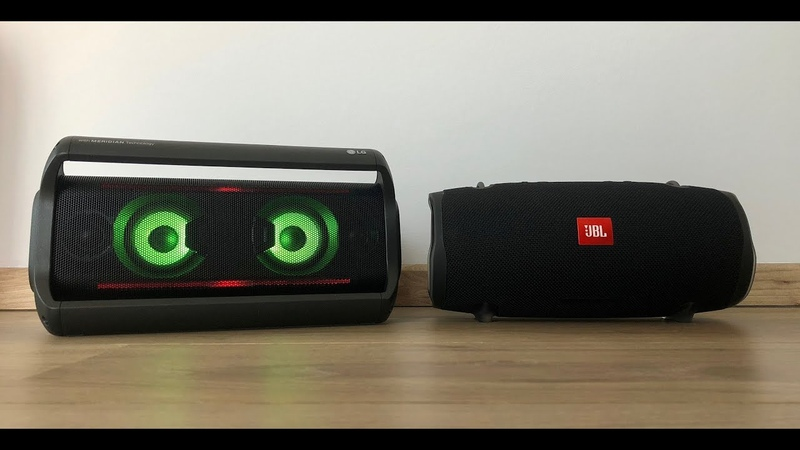 JBL Xtreme 2 vs LG PK7 Sound Comparison