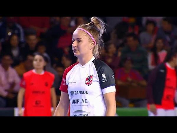 Os gols de Leoas 3 (2) x (1) 1 Atlético na final da Copa Intercontinental Feminino