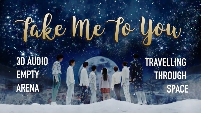 GOT7 - Take Me To You (3D Empty Arena Traveling Through Space)