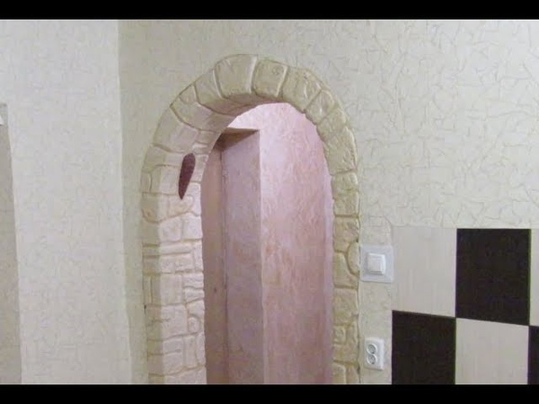 Как шпаклевать арку из кирпича фото