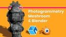 Photogrammetry in Meshroom Blender
