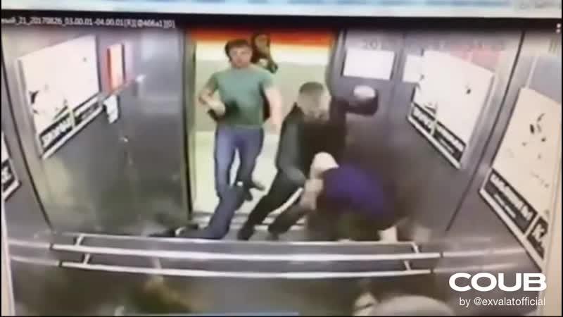 один русский против троих