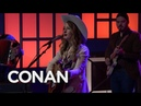 Margo Price Pay Gap 03/07/18 - CONAN on TBS