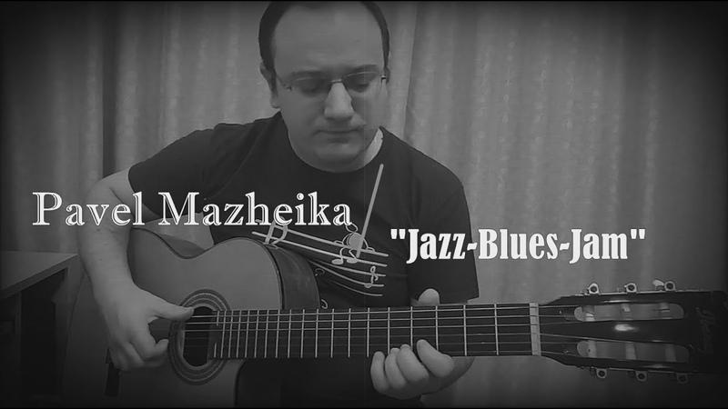 Pavel Mazheika Acoustic Jazz Blues Jam