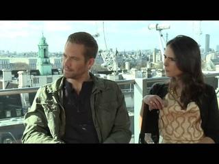 Paul Walker & Jordana Brewster's Fast & Furious 6 Interview part 2