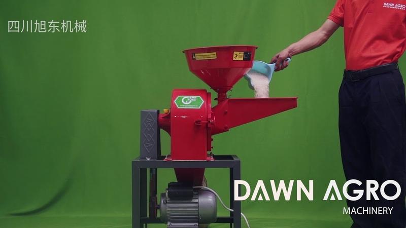 0.4mm powder making by Disc Mill Pulverizer Grinder with chilli powder