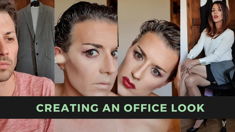 Crossdressing Transformation Creating an Office Look
