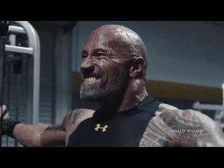 FitnessRoom/THE ROCK/DWAYNE JOHNSON MOTIVATION