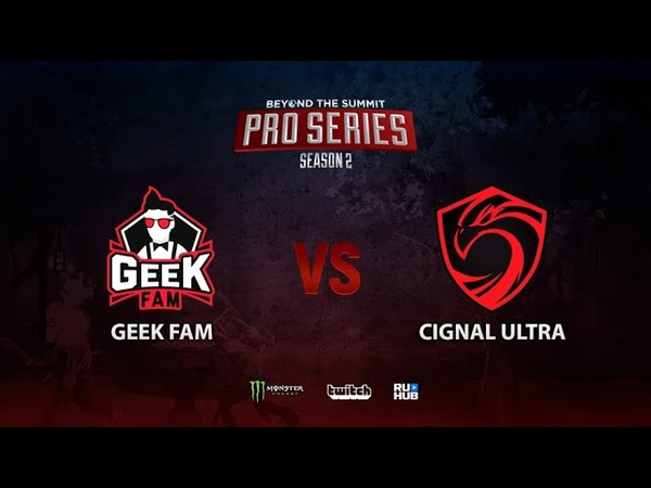 Geek Fam vs Cignal Ultra BTS Pro Series Season 2 SEA bo2 game 2 Maelstorm Jam