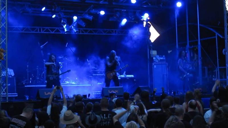 Poisonblack - Rush *live* @ Castle Rock Festival, Mülheim an der Ruhr, 03.07.2015